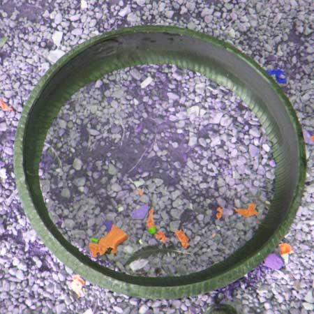 lixeiras pneus reciclados