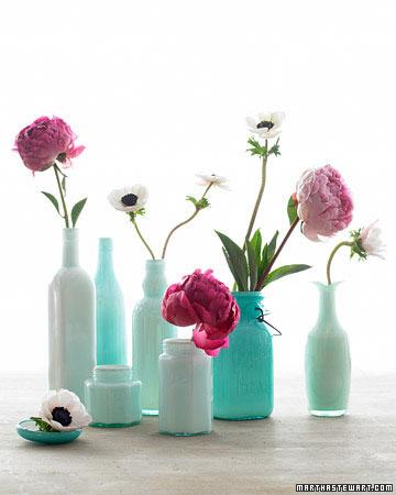 27 usos criativos para frascos e garrafas recicladas