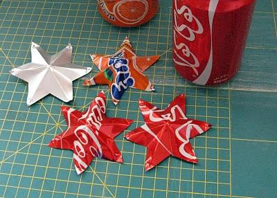 estrelas com latas