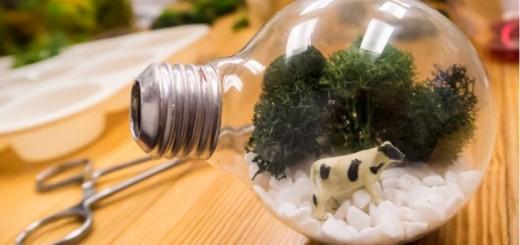 Reciclagem de lâmpada