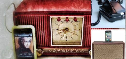 reciclagem de rádio antigo