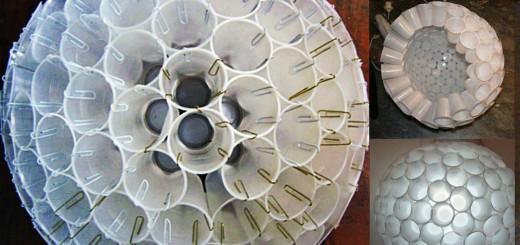 lustre-reciclado-com-copos-plasticos