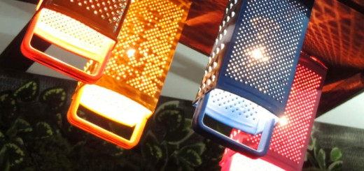 lustre com recicláveis