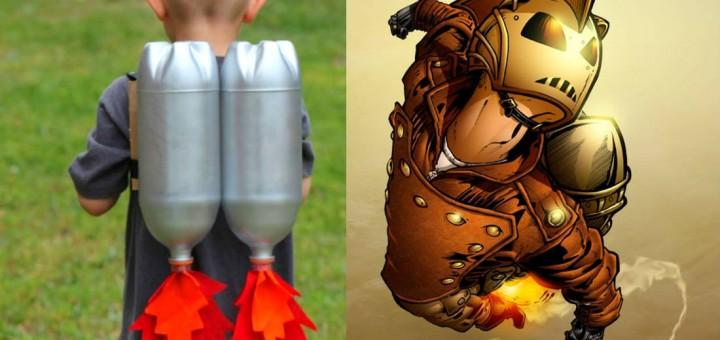 fantasia reciclada de carnaval
