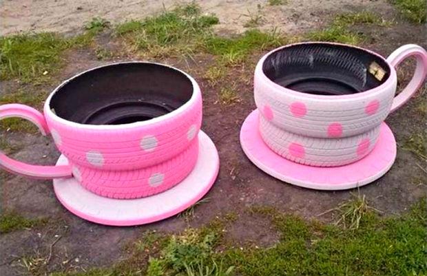 artesanato-com-pneus-xicaras